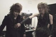 Ruki and Uruha. The GazettE