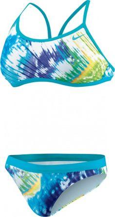 Tie Dye 2PC Adjustable Sport Top | Nike Swim