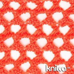 Extreme lace knitting stitch pattern at Knitca