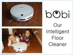 bObi from bObsweep. bObi is a robotic vacuum that can sweep, mop and vacuum. I was so excited to open the box and see bObi and everything that came with. http://www.mystarlightblessings.com/2015/01/bobi-the-robot-vaccuum-review/