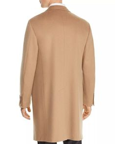 Canali - Wool & Cashmere Classic Fit Overcoat in Camel Size 58 Merino Wool Sweater, Camel, Taupe, Shop Now, Cashmere, High Neck Dress, Blouse, Classic, Fitness