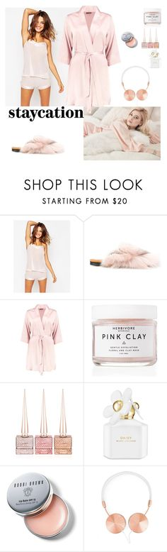 """Rest Up: Staycation"" by beakragh on Polyvore featuring Bluebella, Mr & Mrs Italy, Boohoo, Herbivore, Christian Louboutin, Marc Jacobs, Bobbi Brown Cosmetics, Frends and staycation"
