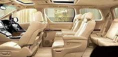 Toyota Alphard 2017 Hybrid Review Interior