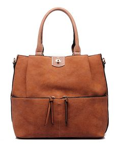 Look what I found on #zulily! MKF Collection Tan Double-Tassel Satchel by MKF Collection #zulilyfinds
