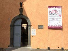 Palazzo del Gusto- wine show Orvieto