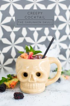 This creepy cocktail is on the to-do list for the next get-together.