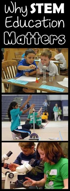 Why STEM Education Matters - Great post on the NCAEE - It's Elementary blog!