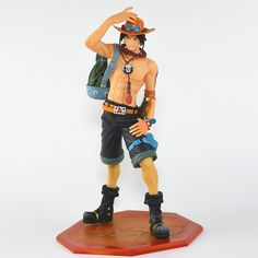 19.95$  Watch now - http://aliy4r.shopchina.info/1/go.php?t=32803700201 - Anime Catoon One Piece POP DX Fire Portgas D ACE the 10th Anniversary Special Edition PVC Action Figure Collectible Model Toy  #buyonline