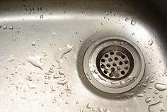 Cheap, easy & eco-friendly DIY cleaner for kitchen & bathroom drains | HellaWella