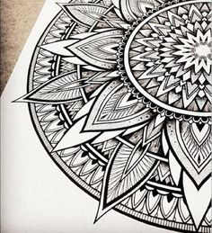 i like the sharp angles like this for the mandala on my forearm. more shield or sundial shape
