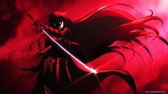 Sword Girl Akame Ga Kill HD Picture Wallpaper