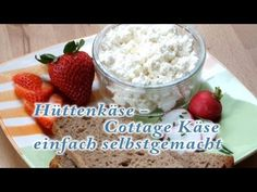 Hüttenkäse - Cottage-Käse selber machen - YouTube