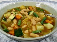 Garden Vegetable and Bean Soup