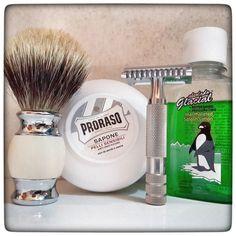 January 8th 2017 - Shave of the day #iKon #Shavecraft #101 safety razor (USA) #Dorco double edge blade (KOR) #Proraso #white shaving soap (ITA) #silvertip #badger shaving brush (CHN) #Alcolado #Glacial #aftershave (BAR) #shavelikeaman #shaveoftheday #blaireau #shavingculture #thebigshave #sotd #classicshave #derazor #vintageshave #wetshaving #worldshave #safetyrazor #instashave #italianwetshavers #rasierhobel #rasaturatradizionale