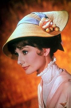 #AudreyHepburn, still advertising of #MyFairLady, 1964.