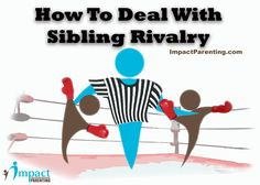 Are Your #Kids Fighting? Let's Just Say It's Not Uncommon. Here Are Some #Practical #Tips on How to Deal With #Sibling Rivalry as a #Parent, When Issues do Come Up. #Parenting #Parents #Moms #Dads
