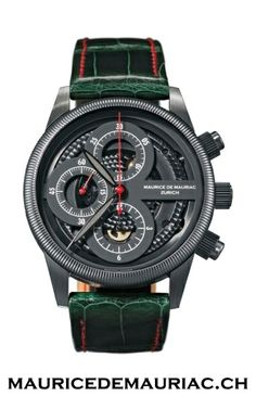 Swiss made watch from Maurice de Mauriac. Men's watches.