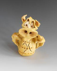 Smokey the Dragon Incense Burner  - Ceramic Pottery Sculpture by BlueFishStudiosShop on Etsy https://www.etsy.com/listing/179402519/smokey-the-dragon-incense-burner-ceramic