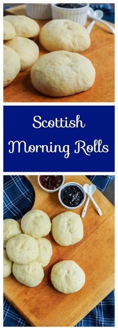 scottish-morning-rolls Ireland's culinary growth ensures that talented cooks around the world are making incredible modern Scottish Dishes, Scottish Recipes, Irish Recipes, Scottish Desserts, Scottish Bread Recipe, Scottish Drinks, English Recipes, English Food, Greek Recipes