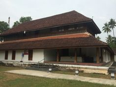 Paliyam Naalukettu, traditional Kerala house. Chendamangalam , Kerala