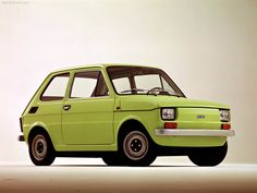 Fiat 126 - 1972 like this color!!!