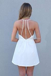 KILL THE STAR DRESS , DRESSES, TOPS, BOTTOMS, JACKETS & JUMPERS, ACCESSORIES, SALE, PRE ORDER, NEW ARRIVALS, PLAYSUIT, COLOUR,,White Austral...