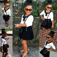 My kid gonna be lil fashionista;)