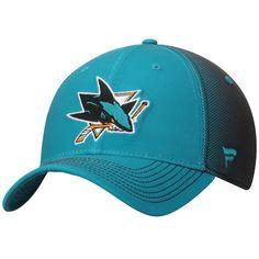 Men s Teal San Jose Sharks Vapor Alpha Structured Adjustable Hat 81248ac16