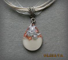 Resin Pendant ,  Resin Jewelry , Resin glitter Jewelry