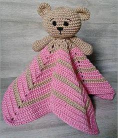 Resultado de imagem para como fazer focinho de urso croche