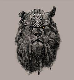 http://raw.abduzeedo.com/post/67412834004/the-eye-of-the-lion-vi-king-pedro-josue-carvajal