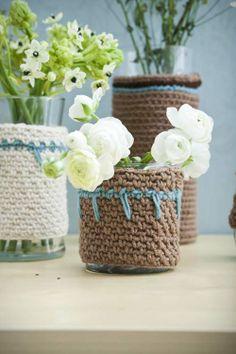 Cozy Vase Cozies | crochet today
