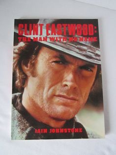 """Vintage Biography book of Clint Eastwood """" The Man With No Name """" by TashasVintages on Etsy"""