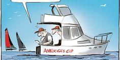 Cartoon: Jimmy Spithill's tweets...