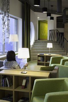 Express Hotel. Suunnittelu: Sisustusarkkitehti Marjut Nousiainen. Kuva: Miina Alajärvi.