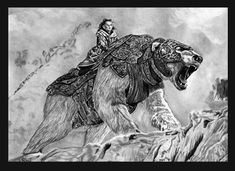 The golden compass. Even if the film is orrible, I still love the books Iorek Byrnison, The Golden Compass, Percy Jackson Fan Art, Fantasy Beasts, His Dark Materials, Book Show, Future Tattoos, Compass Tattoo, Spirit Animal