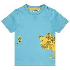 Cute lion shirt by John Lewis UK