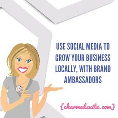 Use Social Media to Grow your #DirectSales Business Locally, using #BrandAmbassadors.    Come on over and join The Socialite Suite on Facebook - FREE tips!!! http://www.thesocialitesuite.com