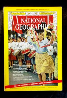 St. Peter's Basilica at the Vatican, & much more in this beautiful issue of National Geographic! RARE VINTAGE 1971 NAT GEO COMMUNIST CHINA ZULU AFRICAN TRIBE CATHOLIC CHURCH ROME GEMSTONES OCTOPUS - on eBay! $2.98