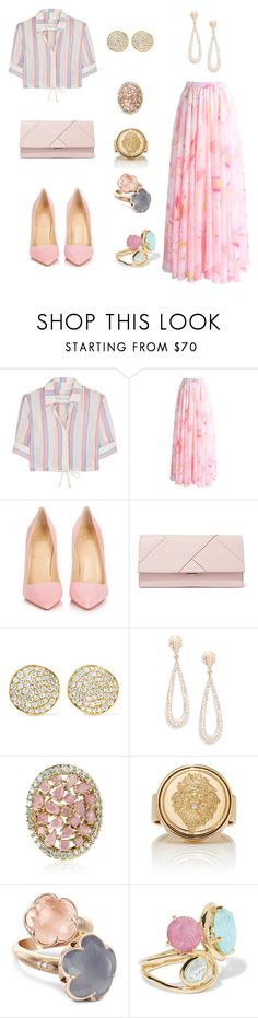 """""""Dolled Up"""" by lemonsandroses on Polyvore featuring Solid & Striped, Chicwish, Christian Louboutin, Michael Kors, Ippolita, Effy Jewelry, Cielle London, Foundrae and Pasquale Bruni"""