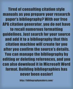 Essay citation generator