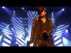 Kanazawa Bunka Hall, Japan Feb 23rd 2013. Adam sings Dragon Attack, Shady, and introduces his band and dancers.