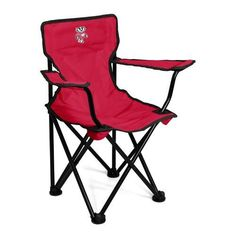Logo™ Toddlers' University of Wisconsin Tailgating Chair (Red, Size ) - NCAA Licensed Product, NCAA Novelty at Academy Sports
