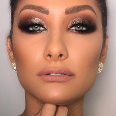 Amazing beautiful eye makeup ideas – eyeshadow - Beauty Home - Beauty - Make UP Wedding Makeup Tips, Prom Makeup, Bridal Makeup, Hair Makeup, Makeup Blog, Makeup Eyes, Party Makeup Looks, Glam Makeup Look, Makeup Ideas Party