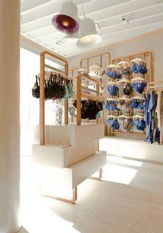 #retail #storedisplays Princesse Tam Tam Store interiors retail