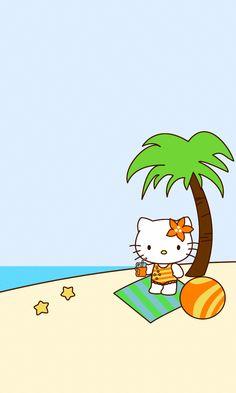 Sanrio Hello Kitty, Hello Kitty My Melody, Hello Kitty Pictures, Kitty Images, Hello Kitty Backgrounds, Hello Kitty Wallpaper, Hello Kitty Imagenes, Hello Kitty Clothes, Cute Love Gif