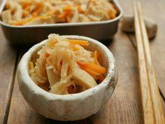 作り置き♡高野豆腐と切り干し大根の煮物の画像