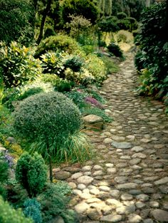 ☀ HAVETID. cobble path
