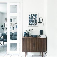 my scandinavian home: mid-century credenza in a Danish home full of vintage finds