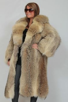 Coyote Fur Coats